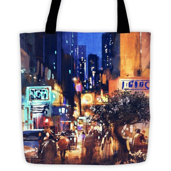 Nightmarket Tote bag - Hutsylife