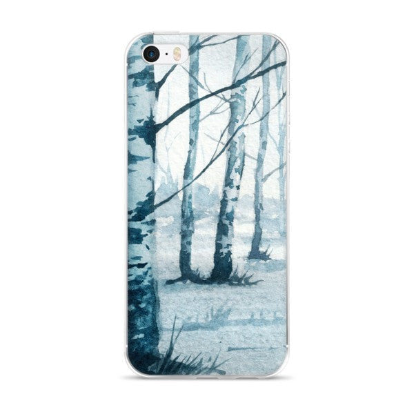 Birch tree iPhone case - Hutsylife - 1