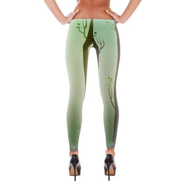 Spring forest Leggings - Hutsylife - 2