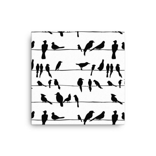 Bird talk Canvas - Hutsylife - 1