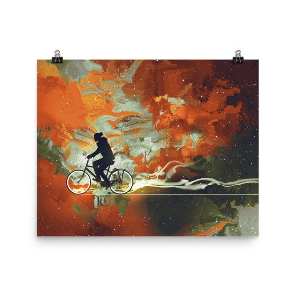 Bicycle man Poster - Hutsylife - 8