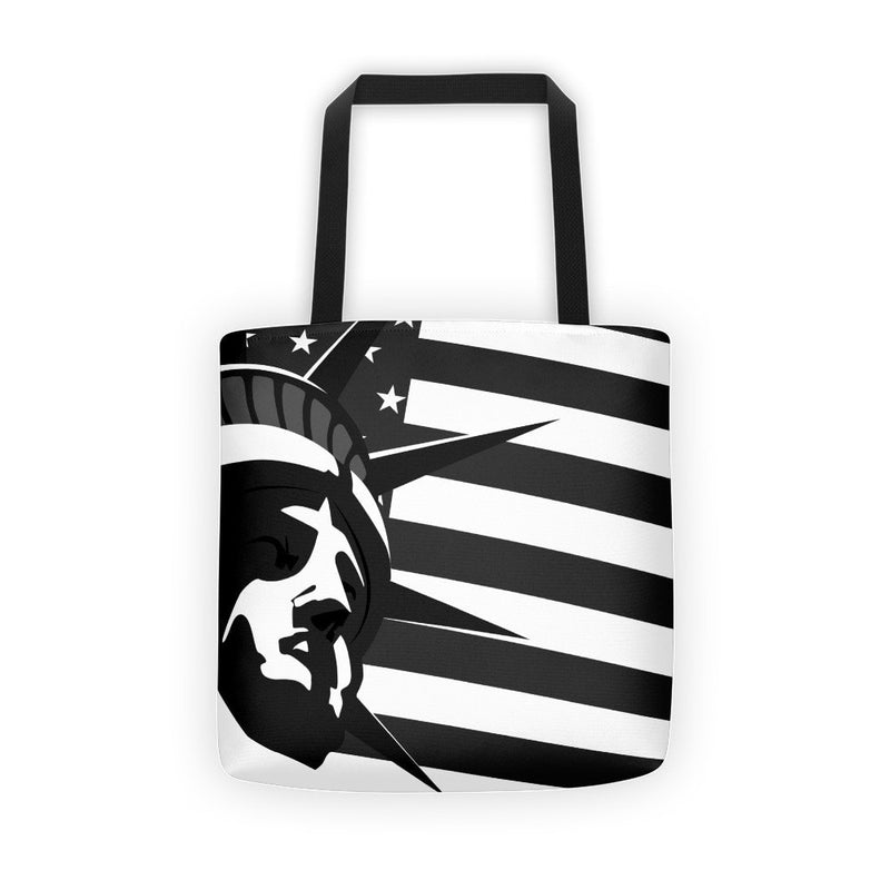 Black liberty Tote bag