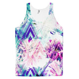 All over print - Spring floral Classic fit men's tank top - Hutsylife - 1