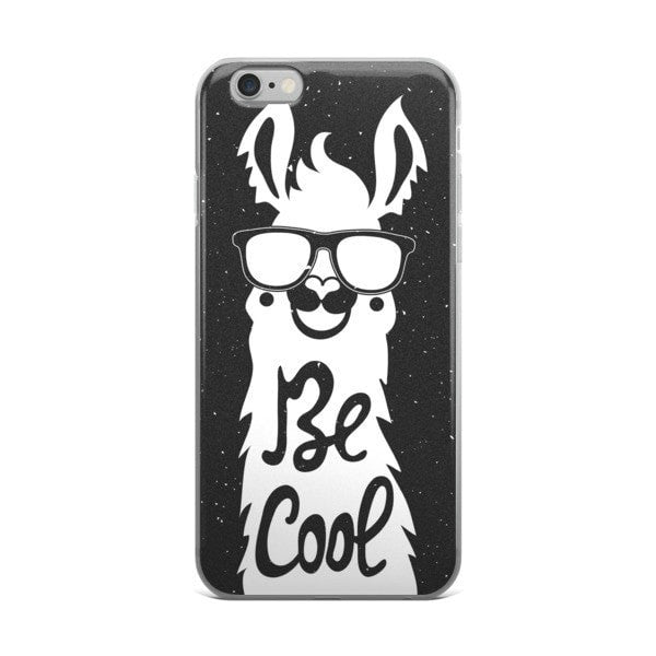 Cool llama Night iPhone case - Hutsylife - 2