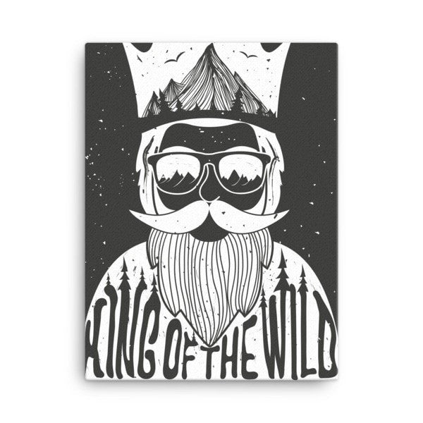 King of the Wild Canvas - Hutsylife - 3