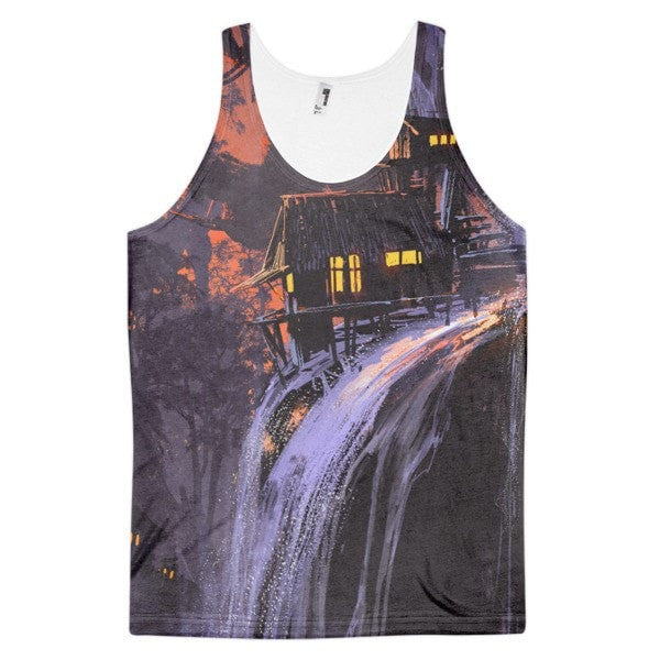 Waterfall life Classic fit men's tank top - Hutsylife
