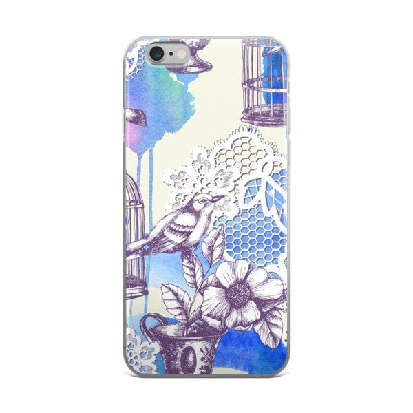Bird Romance iPhone case - Hutsylife - 2