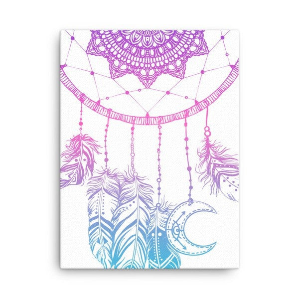 Boho dreamcatcher Canvas - Hutsylife - 3