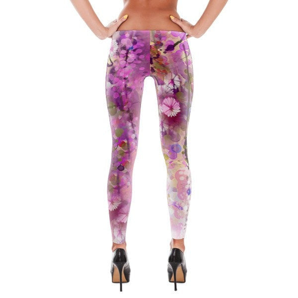 Purple lush Leggings - Hutsylife - 2