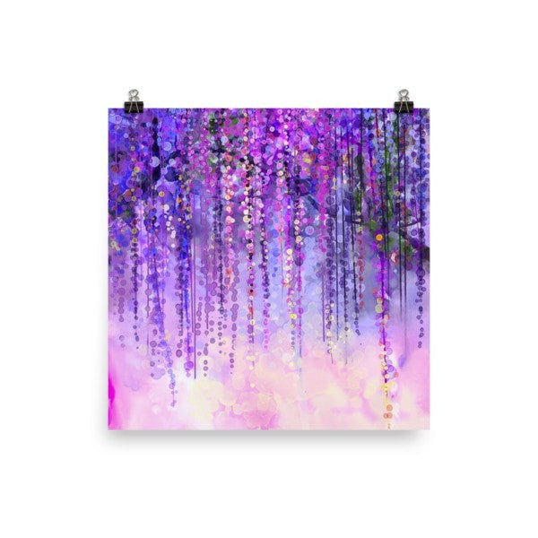 Dark purple lush Poster - Hutsylife - 1