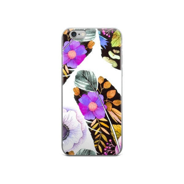 Birds feather iPhone case - Hutsylife - 3