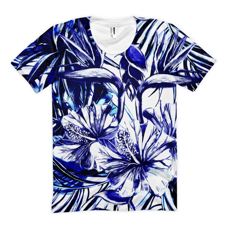 All over print - Blue steel Women's sublimation t-shirt