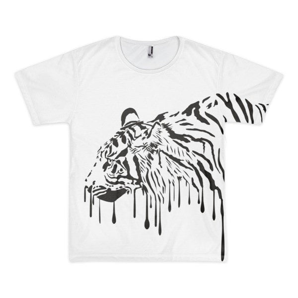 Tiger blood Short sleeve men's t-shirt - Hutsylife