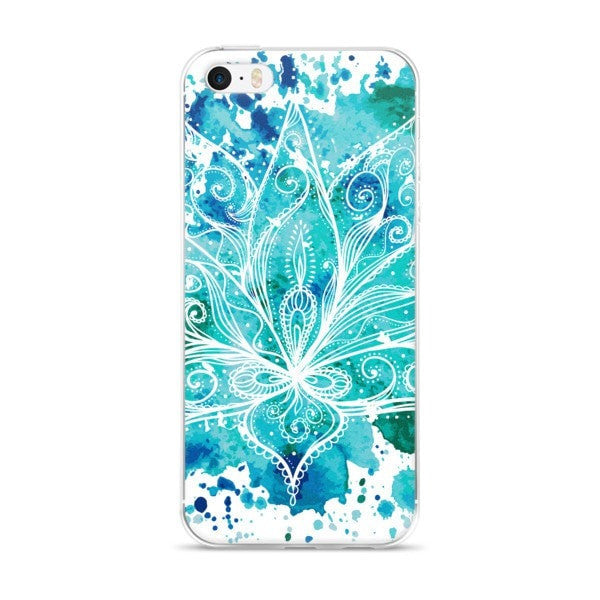 Boho lotus iPhone case - Hutsylife - 1