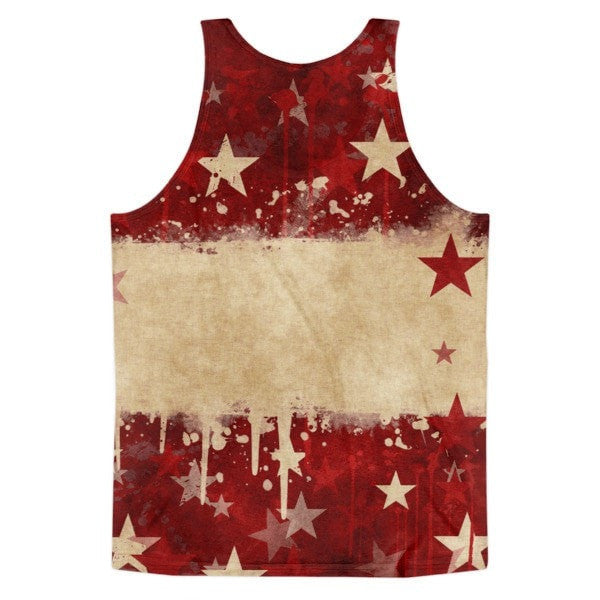 All over print - Grunge star Classic fit men's tank top - Hutsylife - 2