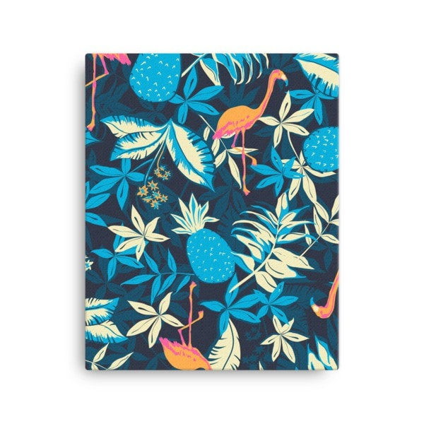 Paradise flamingo Canvas - Hutsylife - 2