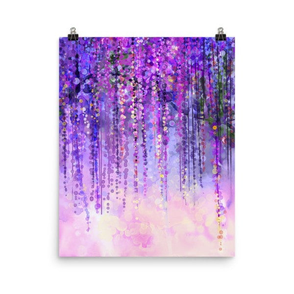 Dark purple lush Poster - Hutsylife - 9
