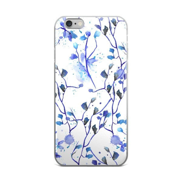 Blue vine iPhone case - Hutsylife - 2