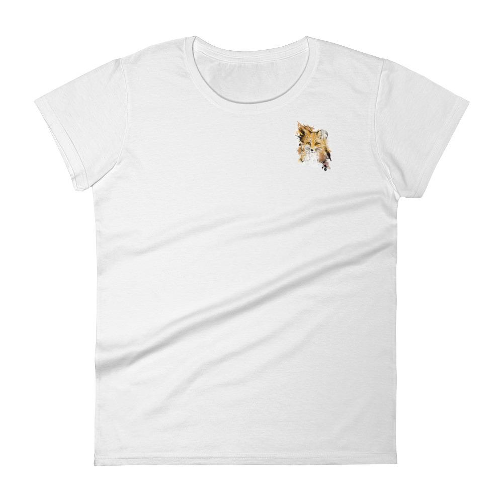 Mini Print - Fox's remorse Women's short sleeve t-shirt