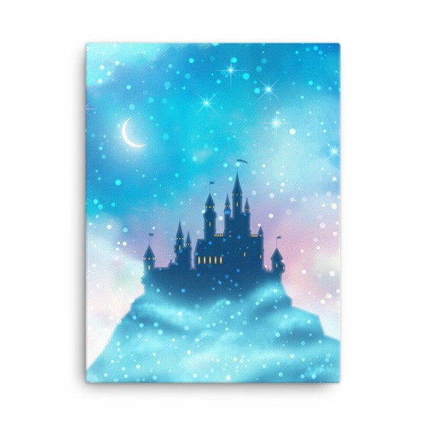 Enchanted castle Canvas - Hutsylife - 3