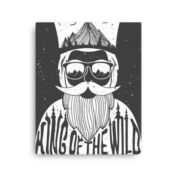 King of the Wild Canvas - Hutsylife - 2