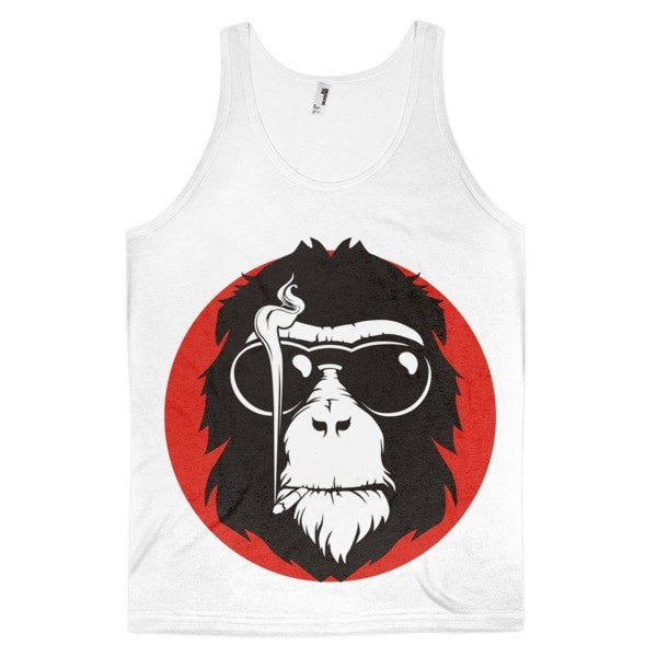 Red monkey Classic fit men's tank top - Hutsylife