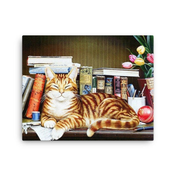 Cool cat Canvas - Hutsylife - 2
