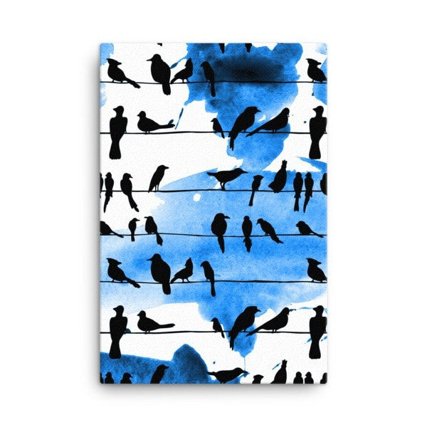 Chillin' Birds Canvas - Hutsylife - 4