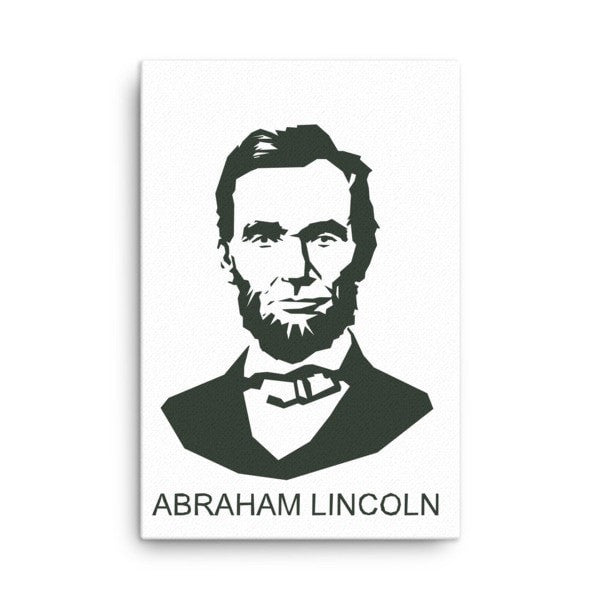Lincoln  Abraham Canvas - Hutsylife - 4