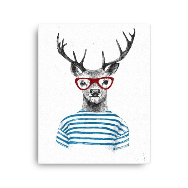 Deer stripes Canvas - Hutsylife - 1