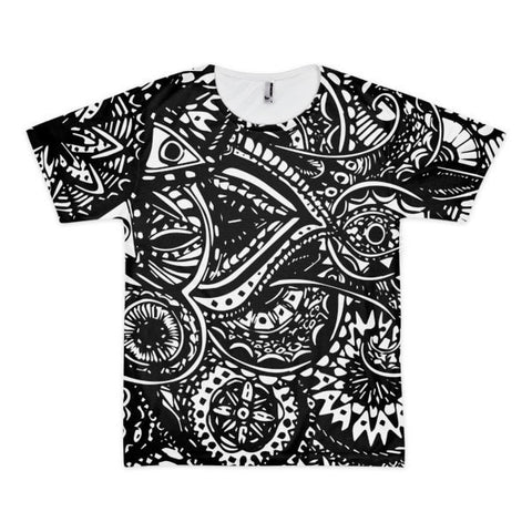 All over print - Black Veritas Short sleeve men's t-shirt