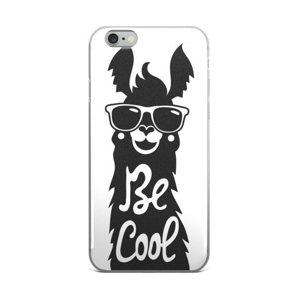 Cool llama iPhone case - Hutsylife - 2
