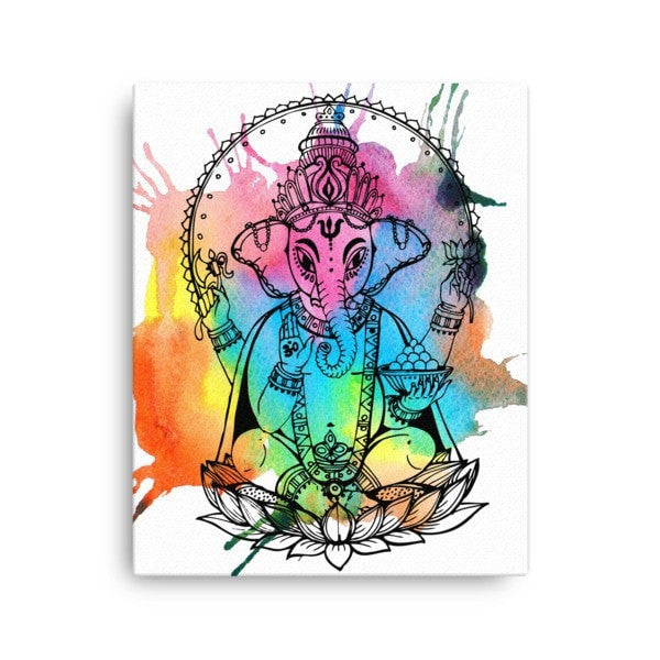 Ganesha Canvas - Hutsylife - 2