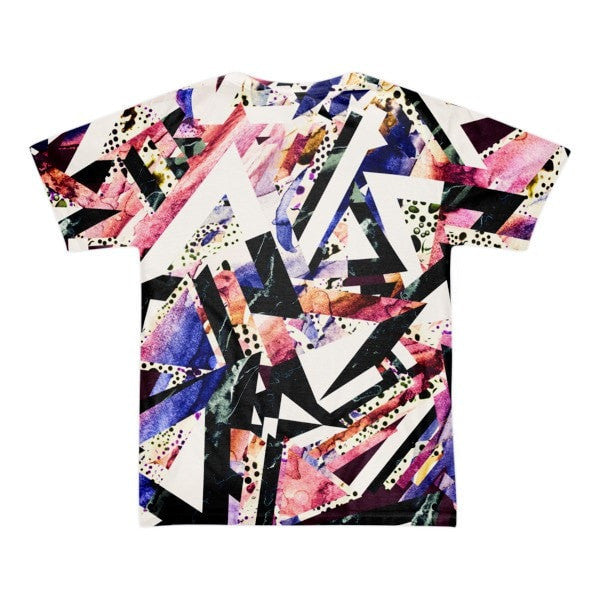 All over print - Psychadelic ay Short sleeve men's t-shirt - Hutsylife - 2