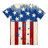 All over print - Patriot Rain Women's Sublimation T-Shirt - Hutsylife - 2