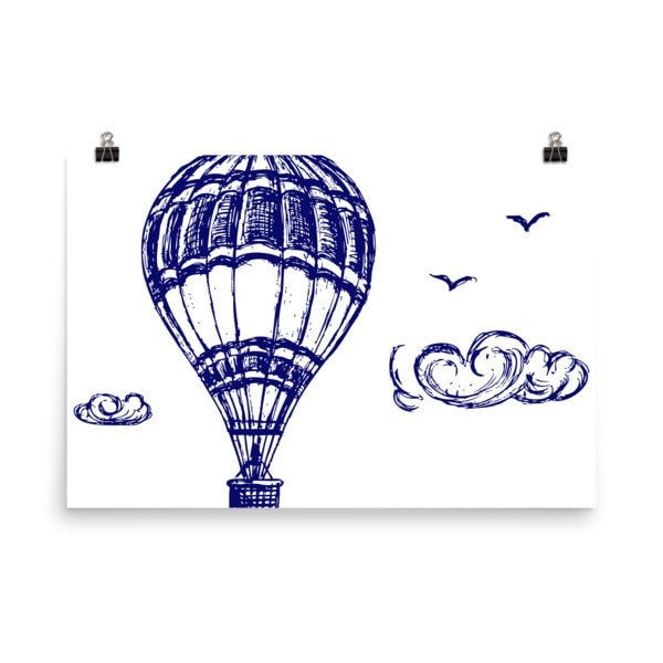 Hot air Poster - Hutsylife - 9