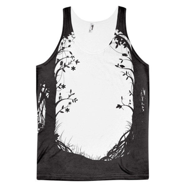 Forest way Classic fit men's tank top - Hutsylife