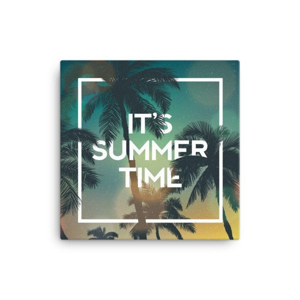 Summer time Canvas - Hutsylife - 1