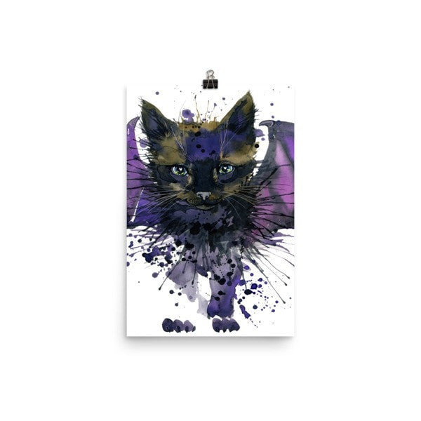 Bat cat Poster - Hutsylife - 6