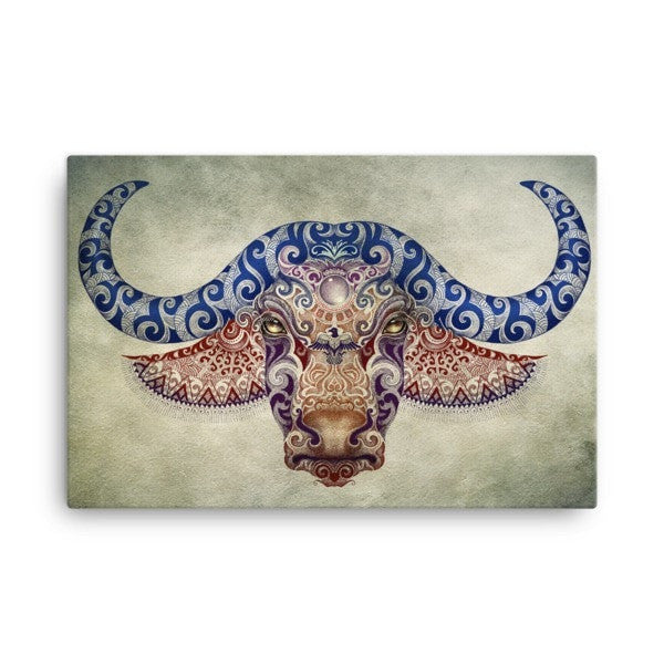 Bull life Canvas - Hutsylife - 2