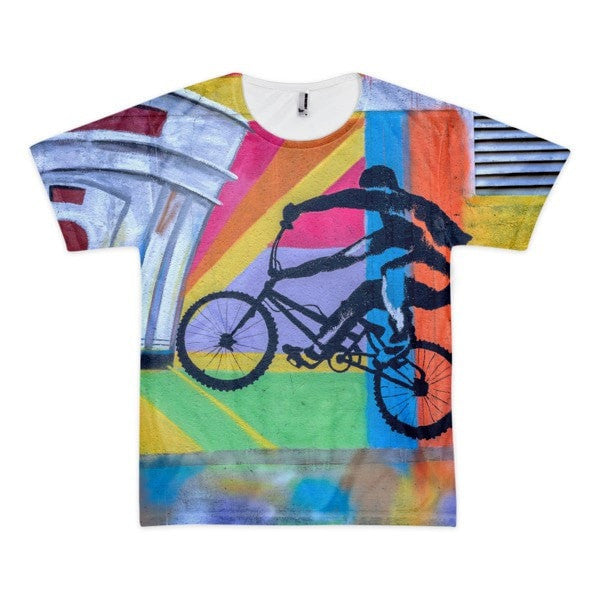 Bike life Short sleeve men's shirt - Hutsylife