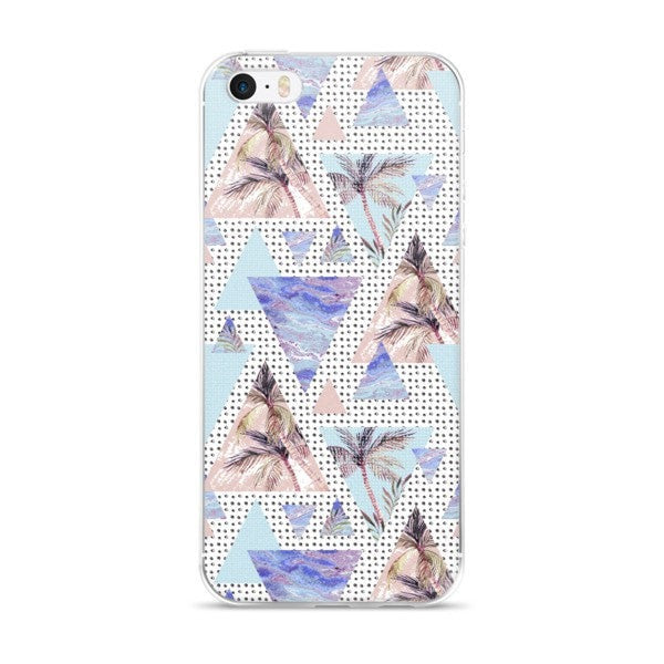 Summer geometric iPhone case