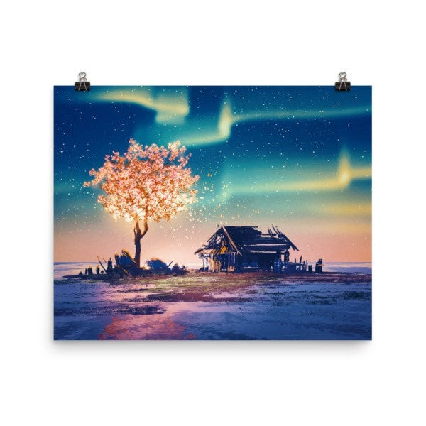 Northern lights Poster - Hutsylife - 8