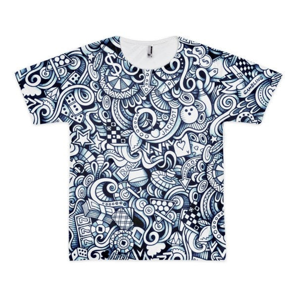 All over print - Vegas life Short sleeve men's t-shirt