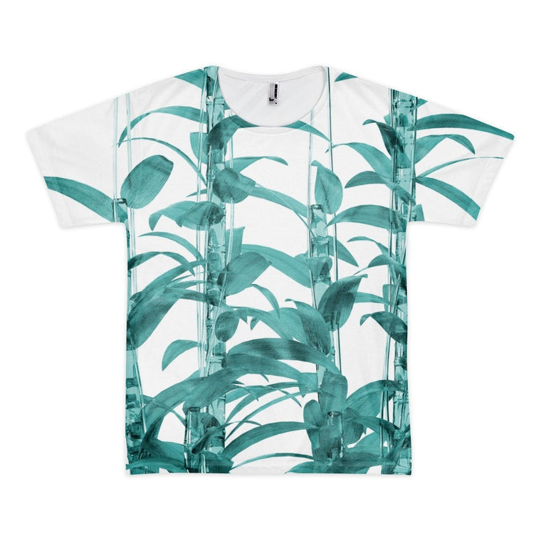 All over print - Transparent Bamboo Short sleeve men's t-shirt