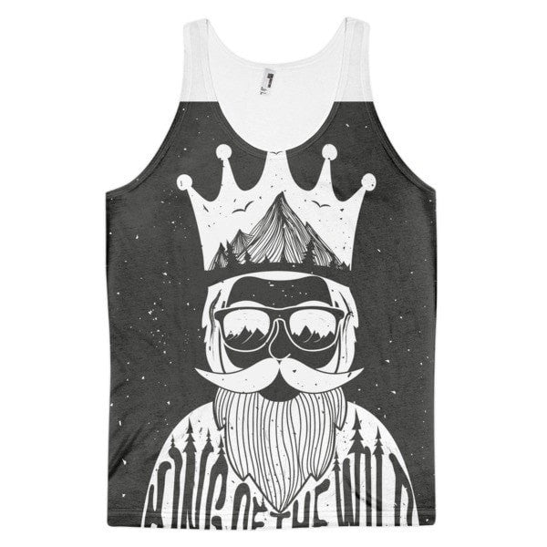 King of the Wild Classic fit men's tank top - Hutsylife