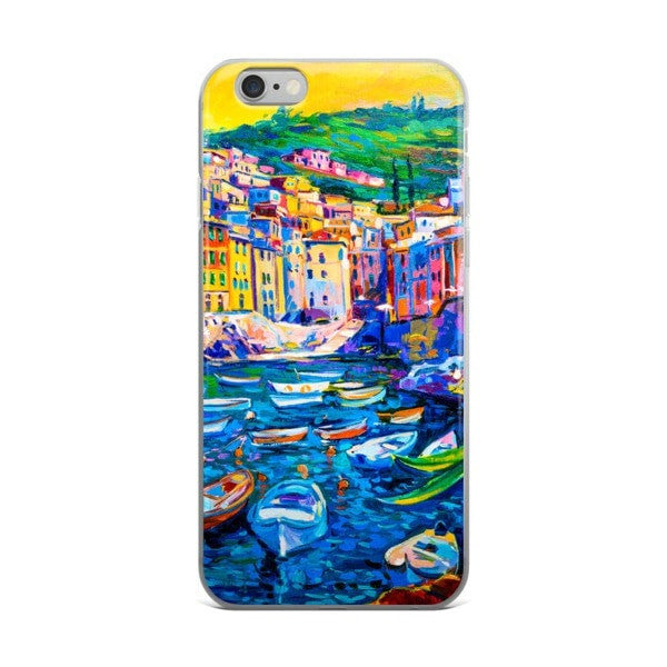 Boat town iPhone case - Hutsylife - 2