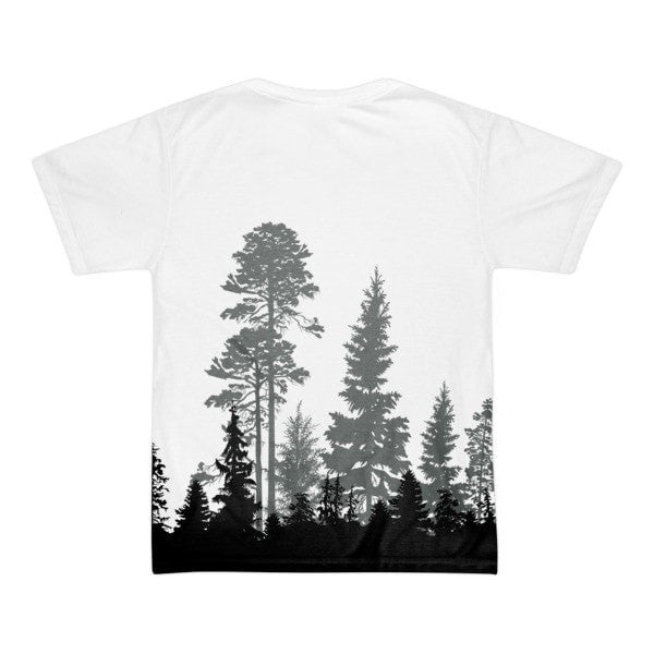 Short sleeve Forest men's t-shirt - Hutsylife - 2