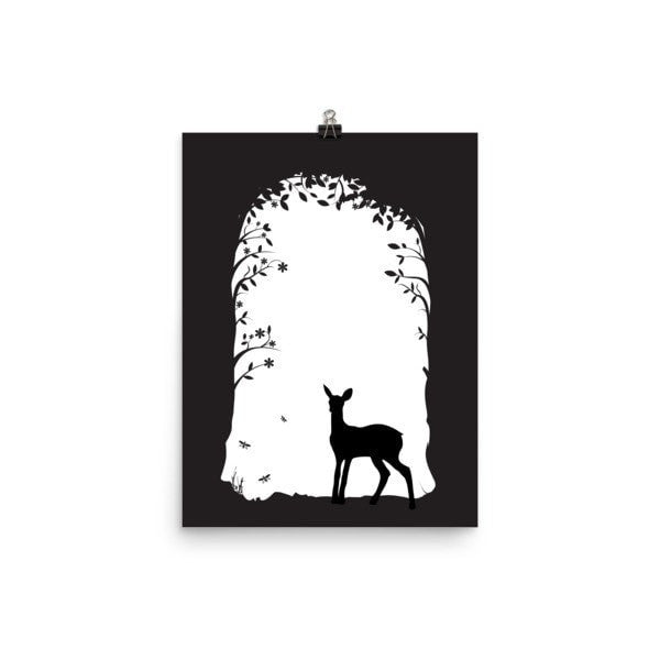 Deer's tunnel Poster - Hutsylife - 1