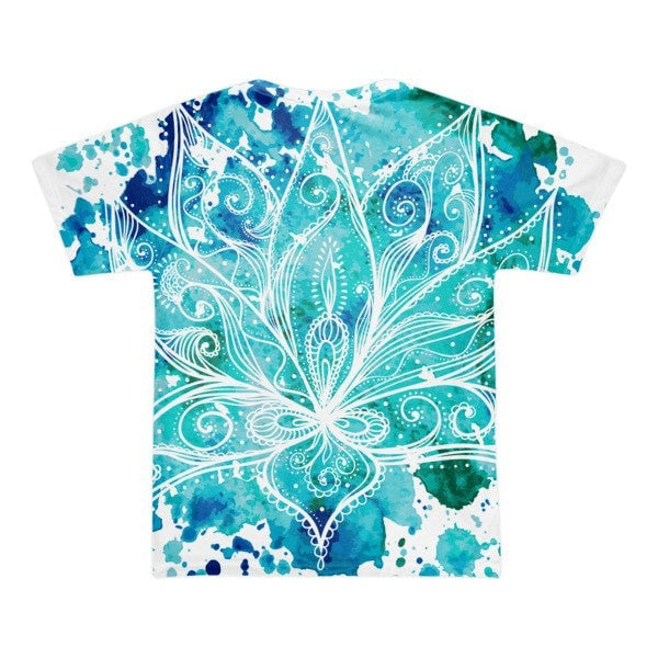 All over print - Boho Lotus Short sleeve men's t-shirt - Hutsylife - 2